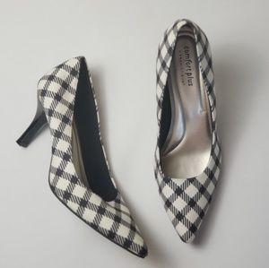 Predictions Heels Comfort Plus Plaid Pumps Size 11